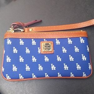 Dooney and Bourke Los Angeles Dodgers Wristlet